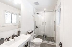 Kanata, complete home renovation, heated floors, drywall, paint, bathroom