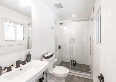 Kanata, complete home renovation, heated floors, drywall, paint, bathroom
