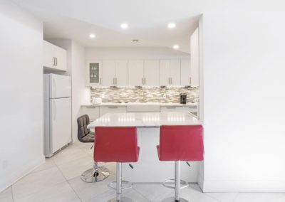 Carp, basement renovation and remodel, kitchen