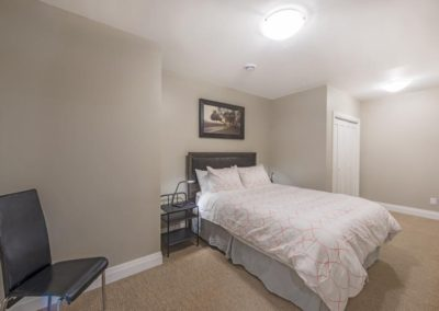Carp, basement renovation and remodel bedroom
