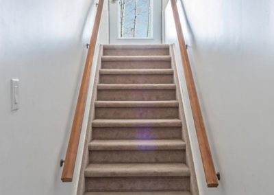Carp, basement renovation and remodel stairs