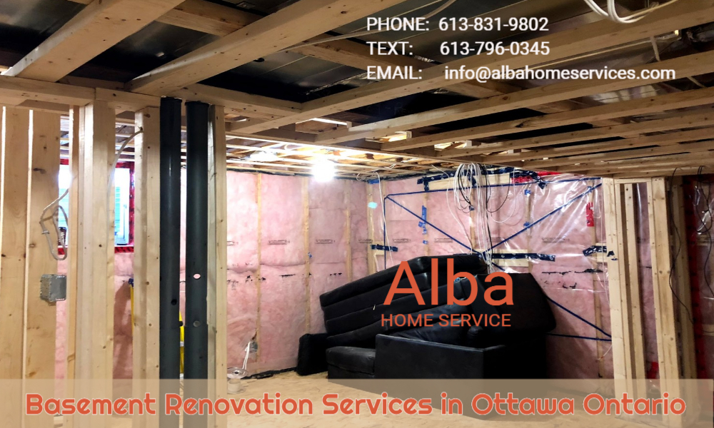 Basement Renovation Services in Ottawa Ontario