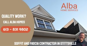 Soffit and fascia contractor in stittsville