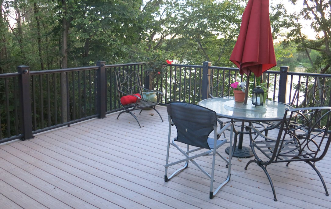 composite wood deck